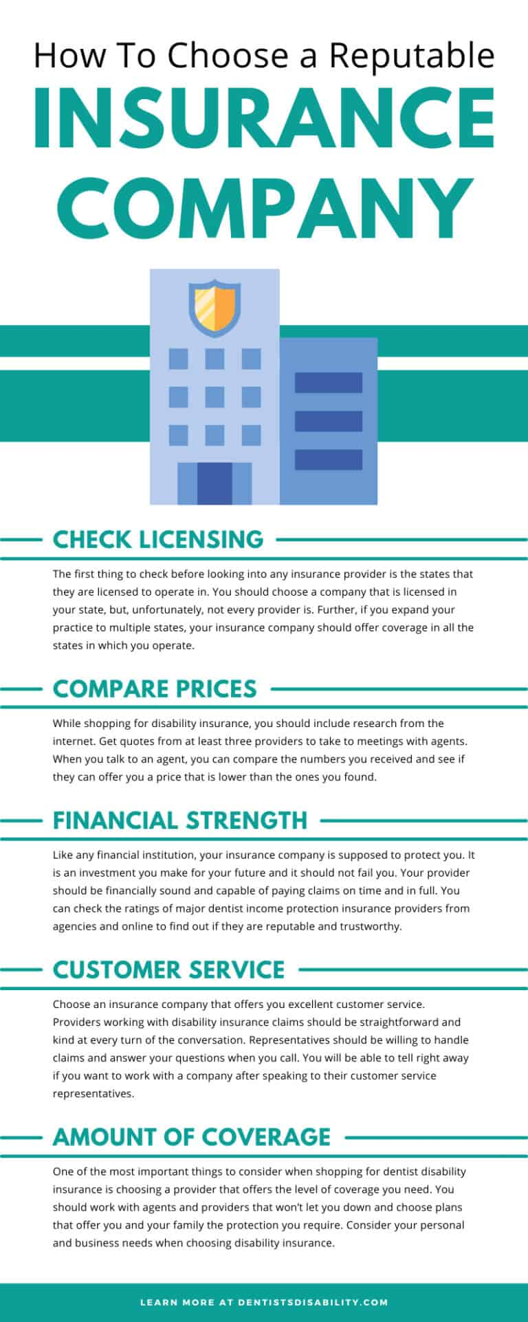 How To Choose a Reputable Insurance Company